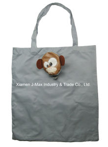 Foldable Shopping Promotional Bag, Animal Monkey Style, Reusable, Lightweight, Gifts, Accessories & Decoration, Grocery Bags pictures & photos
