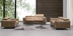 Modern Home Furniture 1+2+3 Leather Sofa (L070) pictures & photos