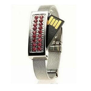 Bracelet Diamond USB Flash Drive Wrist Band USB Pendrive pictures & photos