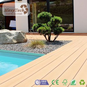 Waterproof WPC Wood Swimming Pool Floor Covering Composite Decking pictures & photos