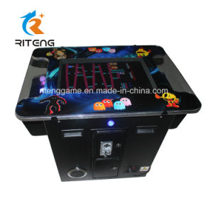 Retro Pacman Cocktail Table Arcade Game with 60 Games pictures & photos