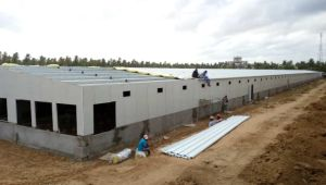 2017 China Prefab Steel Structure Poultry House pictures & photos