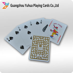High Quality Waterproof 100% Plastic Playing Cards Poker pictures & photos