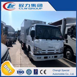 Japanese Isuzu 4*2 120HP Refrigerated Truck pictures & photos