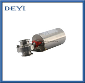 Stainless Steel SS316L Sanitary Pneumatic Butterfly Valve with Sensor pictures & photos
