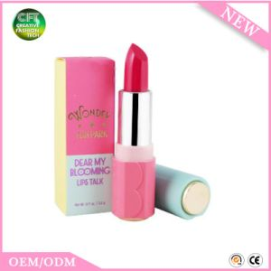 Free Sample Makeup Kiss Beauty Nourish Lips Waterproof Cosmetic Lip Stick pictures & photos