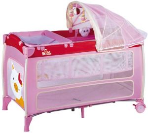 Portable Travel Cot Baby Playpen Infant Baby Play Yard pictures & photos