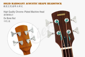 Aiersi Electric 4-String Acoustic Bass Guitar pictures & photos