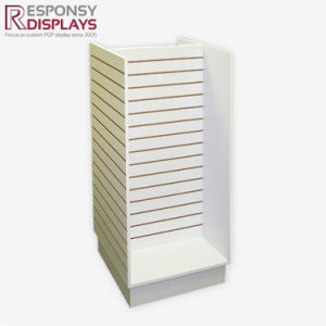 Shopping Mall Large Slat Wall MDF Display for Baby Clothes pictures & photos