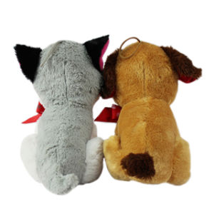 Wholesale Kids′ Pet Plush Dog Toy Huskey pictures & photos
