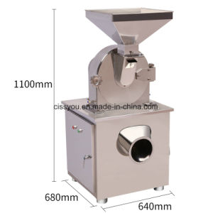 Stainless Steel Spice Pepper Chili Grain Salt Grinder Crusher pictures & photos