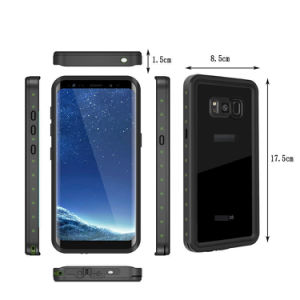 Waterproof Case Dirt Shockproof Grease Cover for Samsung Galaxy S8 pictures & photos