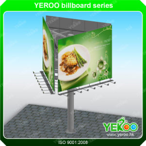 Outdoor Three Sided Billboard Manufacturers LED Light Advertising Equipment pictures & photos