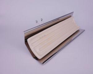 White Pad Shape Infrared Ceramic Heater Radiator pictures & photos