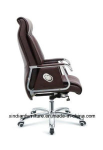 Low Price Kneeling and Footrest Office Leather Chair for Boss pictures & photos
