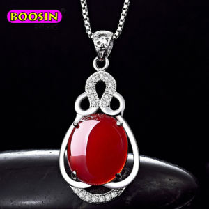Hot Sale 925 Silver Jewelry Box Chain Necklaces for Women pictures & photos