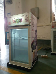 Mini Ice Cream Freezer Gelato Mini Display Freezer with Strong Fan Cooling System display Freezer pictures & photos