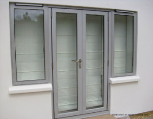 34 Inch X 80 Inch 1/2 Lite Vented 2 Panel Painted Entry External Door