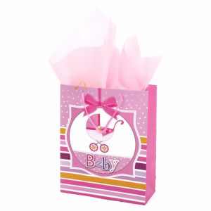 Lovely Design for Baby Clothes Packaging Custom Laminated Paper Bags pictures & photos