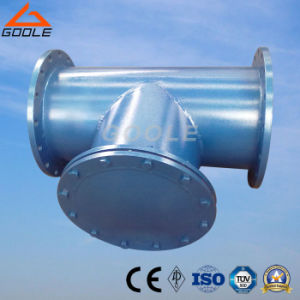 Fabricated Flanged T Type Strainer pictures & photos