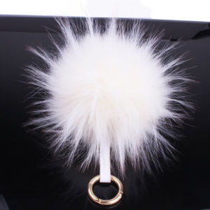 Wholesale Products Raccoon Fur Ball Poms pictures & photos