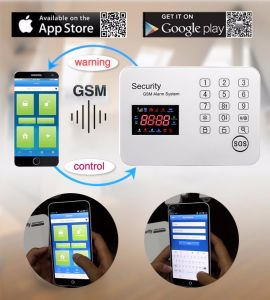 DIY/OEM/ODM Touch Keyboard Home Security Wireless GSM Intruder Alarm pictures & photos