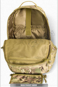 Tactical Backpack for Military Camouflage ISO Standard pictures & photos