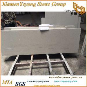 White Crystal Artificial Quartz Stone Kitchen Countertop (YY-MS197) pictures & photos