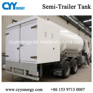 High Quality Cryogenic LNG Storage Transportation Tank for Sale pictures & photos