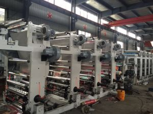 Gravure Printing Machine for Plastic Film pictures & photos