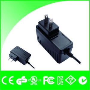 12V 1A Jp Plug PSE Certificate Power Adapter with Cable for IP Camera