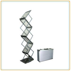 Folding Brochure Holder, Catalogue Shelf, Literature Rack (E07B4) pictures & photos
