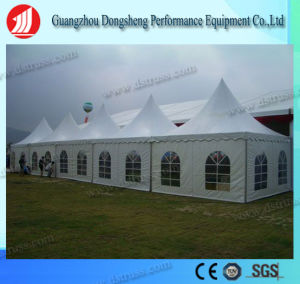 5mx5m PVC Decorated Pagoda Tent for Outdoor Wedding Party Events pictures & photos