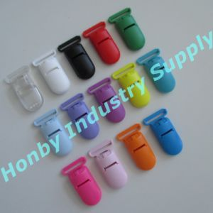 4G Silicone Resin Material Pacifier Baby Holder Clip