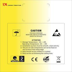 Epistar 5050 60LEDs/M 14.4W/M CRI 80 LED Strip pictures & photos