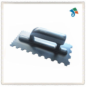 Plastic Teeth with Plastic Handle Plastering Trowel pictures & photos