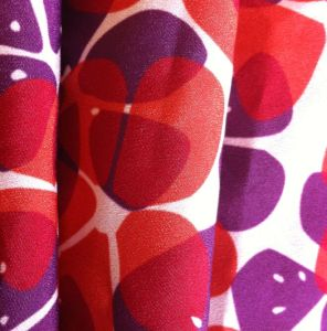100% Polyester Crepe De Chine Printing Fabric for Blouse pictures & photos