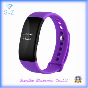 Fashion V66 Smart Band Bracelet Heart Rate Monitor Activity Fitness Tracker Wristband for Ios Android Mobile Phone pictures & photos
