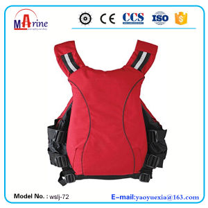 Red Color PVC Foam Aviation Life Jacket pictures & photos