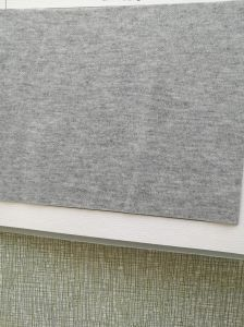 3D Airlayer One Side Silver Fiber Knitting Fabric pictures & photos