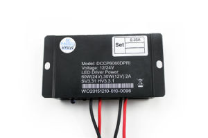 Switching Power 30W-100W 9V-33V LED Driver Waterproof LED Lighting12/24V Dccp6060dpri pictures & photos