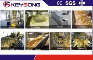 Industrial Potato Chips Production Line pictures & photos