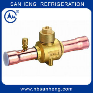 Sh-17211 Hot Sale Brass Ball Valve with Charging Port pictures & photos