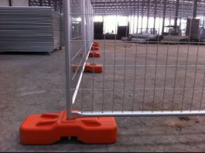 14 Microns Hot Dipped Galvanized 2100mm X 2400mm Temporary Fence Panels pictures & photos