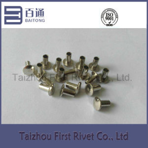 4X8mm Nickel Plated Truss Head Semi Tubular Steel Rivet pictures & photos