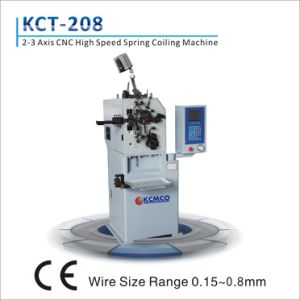 Kcmco-Kct-8c 0.15-0.8mm CNC Compression/Torsion Spring Coiling Machine pictures & photos