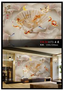 Background Wall Paintings Art Series Nano Glass Wall Decoration pictures & photos