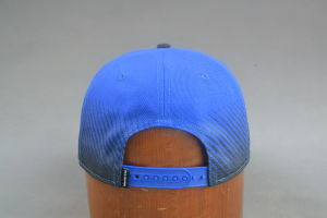 Blue Snapback Hat with Round Brim pictures & photos