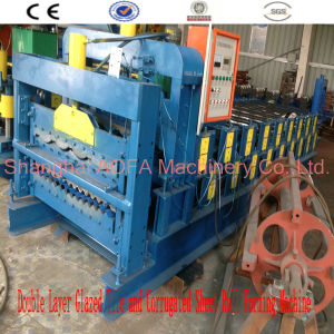 Color Steel Roofing Tile/Wall Corrugated Roof Sheet Making Roll Forming Machine pictures & photos
