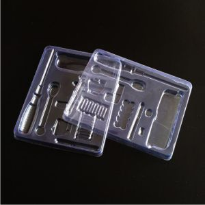 PVC Plastic Box Transparent Metal Screwdriver Plastic Packaging pictures & photos